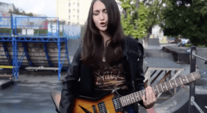 Дина | Halestorm – Innocence song (cover)